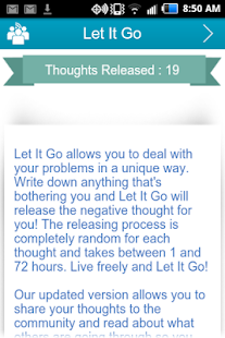 Let It Go: Vent and Release- screenshot thumbnail