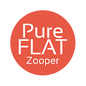 Pure Flat Clock for Zooper