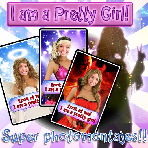 娛樂必備App Girl's Super photomontages LT LOGO-綠色工廠好玩App