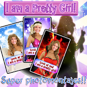 Girl's Super photomontages LT