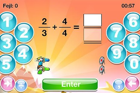 SkoleMat Level 6 gratis - screenshot thumbnail