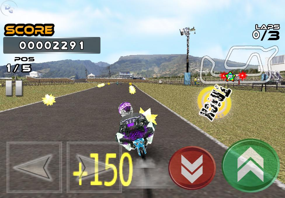 Pocket Bike Race- screenshot