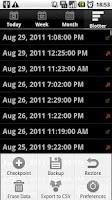 Screenshot of Hours Bank
