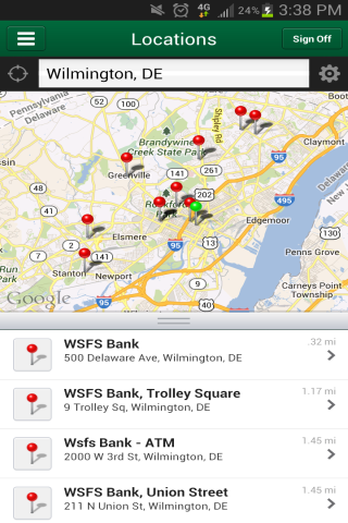 WSFS Bank Mobile - screenshot