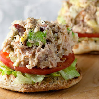 Tuna Cobb Salad Sandwiches.