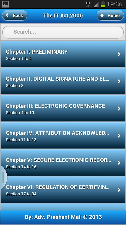 IT Act 2000-Cyber Law- screenshot