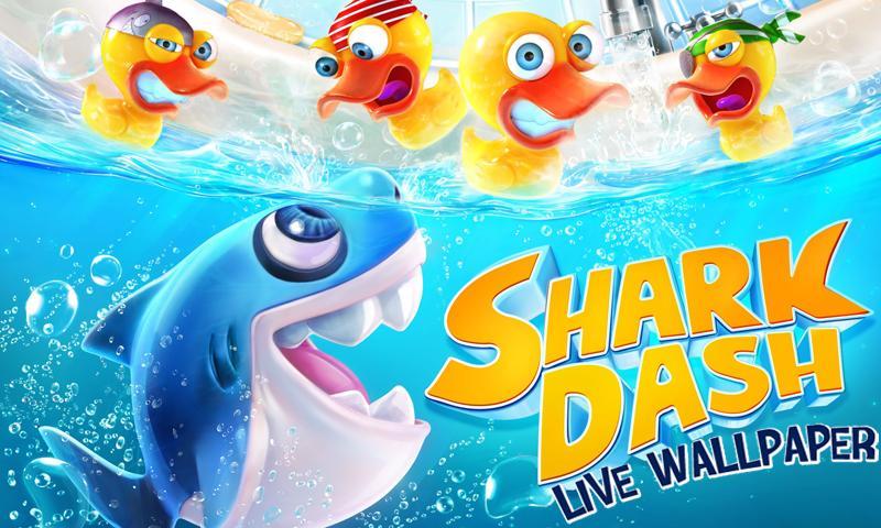 Shark Dash Live Wallpaper screenshot #1
