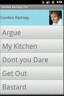 Gordon Ramsay Pro Soundboard - screenshot thumbnail
