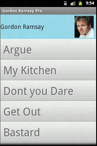 Gordon Ramsay Pro Soundboard - screenshot