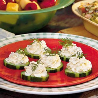 Cucumber-Dill Rounds.