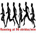 Running metronome icon