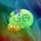 GO SMS Pro Theme Smoke Fire