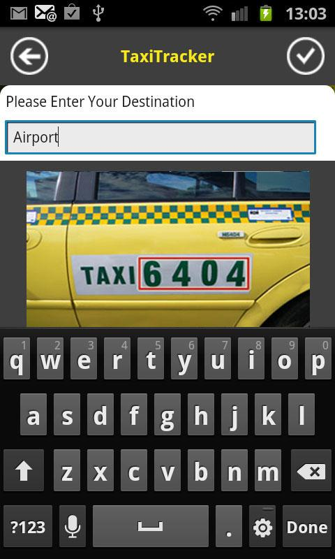 13CABS Taxi - screenshot