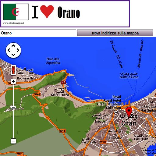 Orano map
