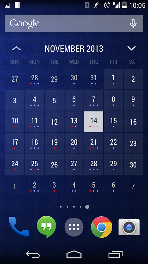 Today - Calendar Widgets- screenshot