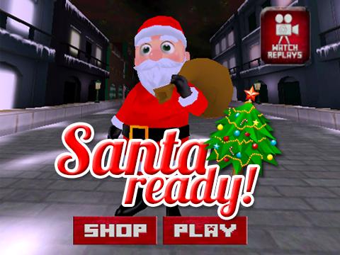 3D Santa Run Subway Rush
