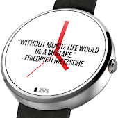 Time for a quote! Watch Face