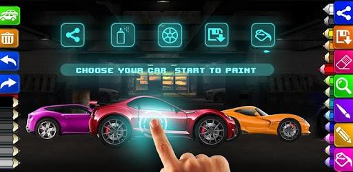 Boyama Oyunları Süper Araba Indir Pc Windows Android Air