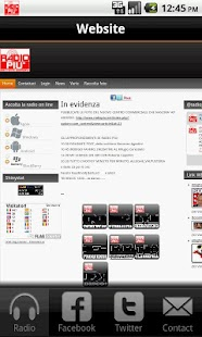 Radio Più Emittente Agordina - screenshot thumbnail