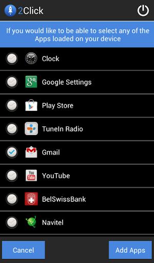 【免費生產應用App】2Click Instant Launch-APP點子