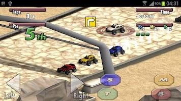 Screenshot of Time to Rock Racing Demo