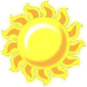 Sun Battery Widget icon
