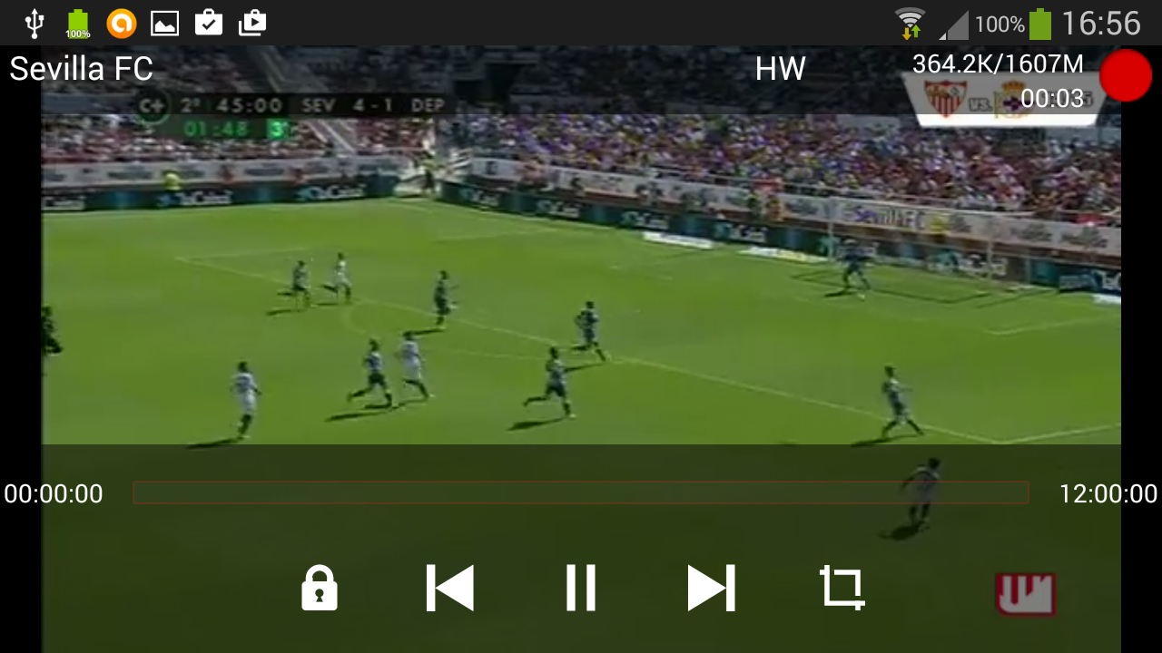 VXG IPTV Player (TV online)- screenshot