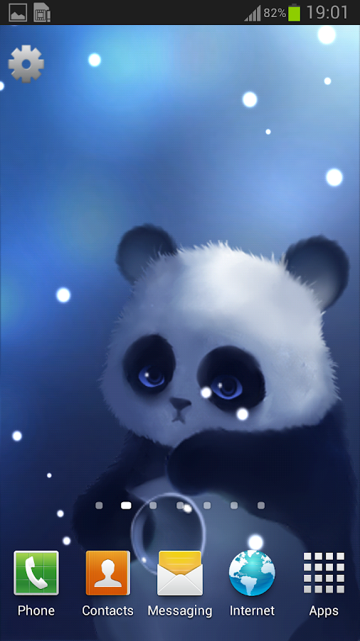 Panda Lite Live Wallpaper- screenshot