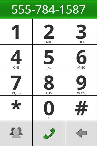 BigDialer - screenshot