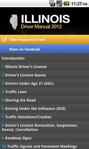 Driver Manual - Illinois Free