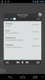 TSF Music Widget Screenshot 4