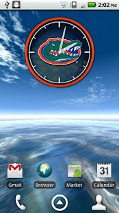 Florida Gators Clock Widget - screenshot thumbnail