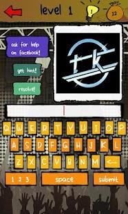 Band Logos Quiz- screenshot thumbnail