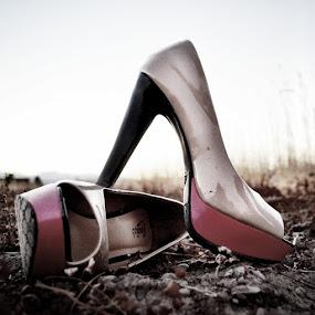 Power Shoes by Gabi Dearing - Uncategorized All Uncategorized ( shoes, woman, high heel, power, pink,  )