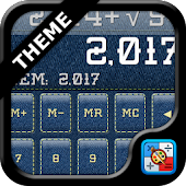 SCalc Denim theme