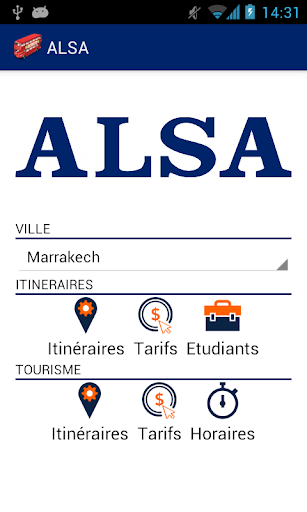 ALSA bus Maroc