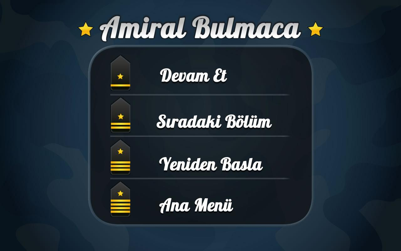 Amiral Bulmaca - screenshot