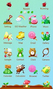 Spring_GO Launcher Theme - screenshot thumbnail