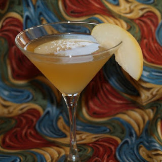 Asian Pear And Ginger Martini.