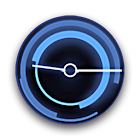 Honeycomb Clock Widget icon