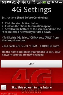 4G Switch - screenshot thumbnail