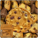 Chocolate Cookies Crunch LWP icon
