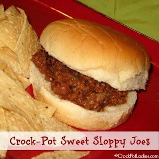 Crock-Pot Sweet Sloppy Joes
