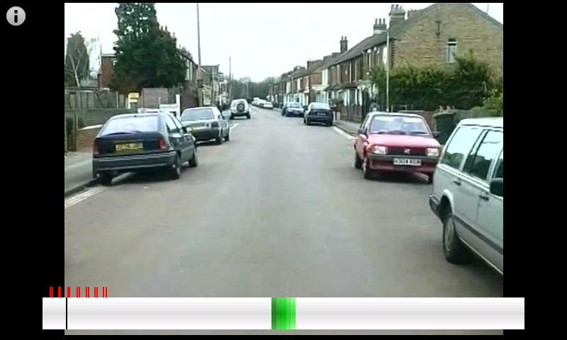 Hazard Perception Test - screenshot