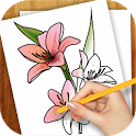 Learn to Draw Exotic Flowers icon
