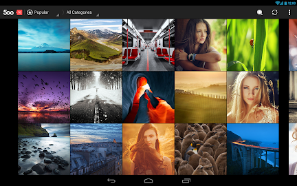 500px – Discover great photos Screenshot 2