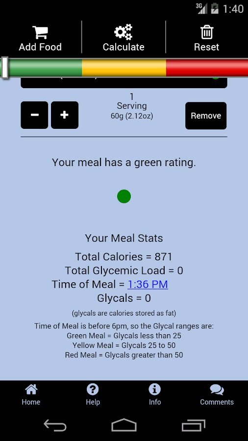 The Low-Glycal Diet™ by BioFit- screenshot