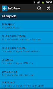 InfoAero screenshot 2