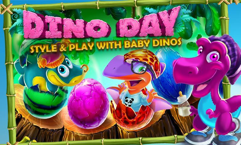 Dino Day! Baby Dinosaurs Game- screenshot