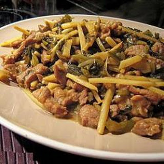Pork and Cabbage Stir Fry.